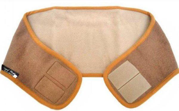 Благодаря низкой теплопроводности, согревающий пояс аккумулирует тепло от тела и эффективно прогревает поясницу