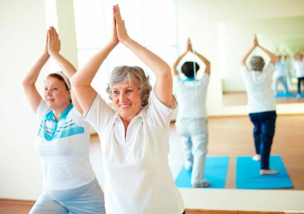 ЛФК помогает поддерживать хорошую физическую форму в пожилом возрасте