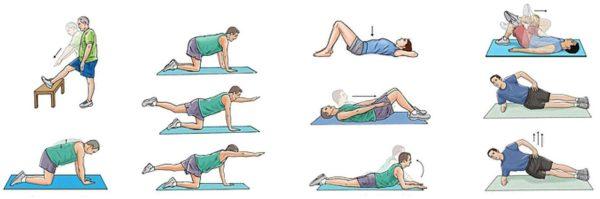 Упражнения помогут избавиться от солей в спине и устранить боль