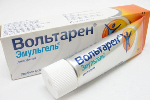 Вольтарен оказывает комбинированное противовоспалительное и анальгезирующее воздействие