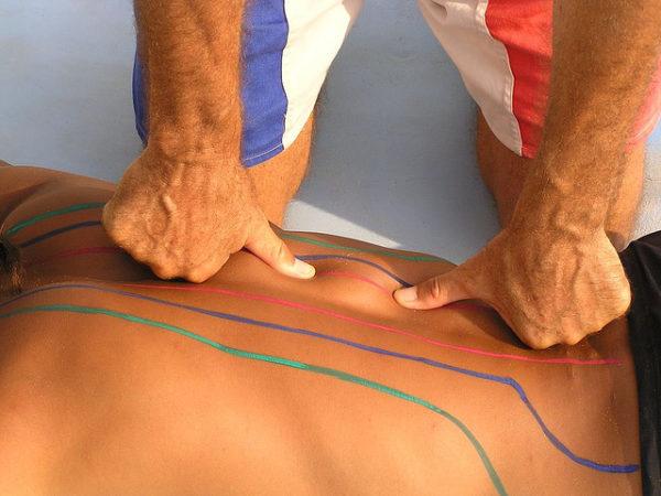 Во время массажа осуществляется воздействие на определенные зоны