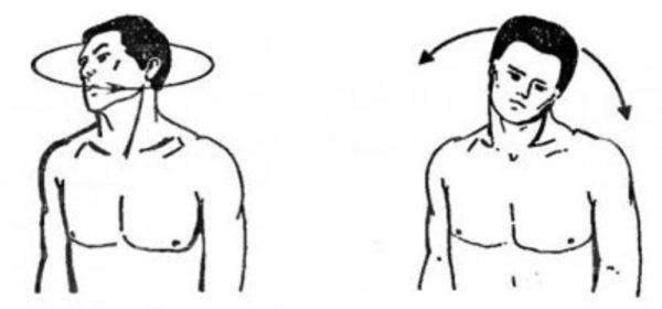 Вращение головой