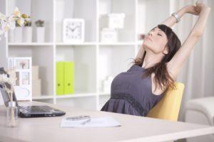 Делайте перерывы в сидячей работе