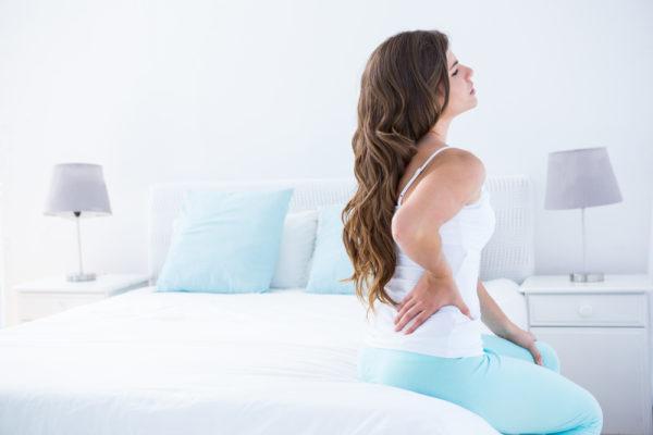 Из-за спазма мышц спины может нарушаться работа внутренних органов