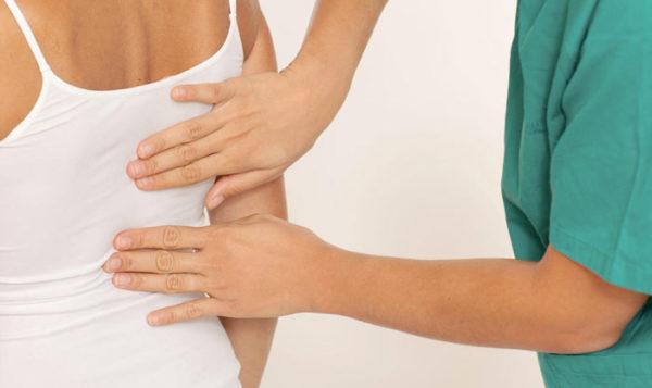 Пальпация - первичная диагностика при миозите