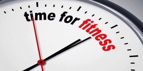 Подберите для себя удобное время для тренировок