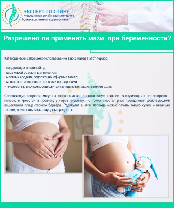 Разрешено ли применять мази при беременности?