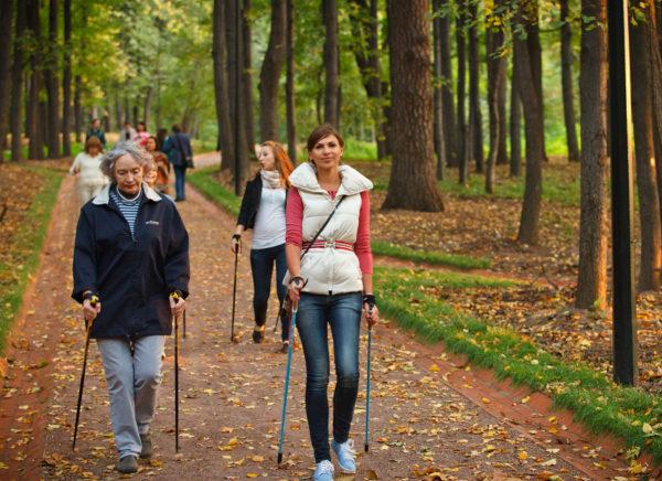 Скандинавская ходьба