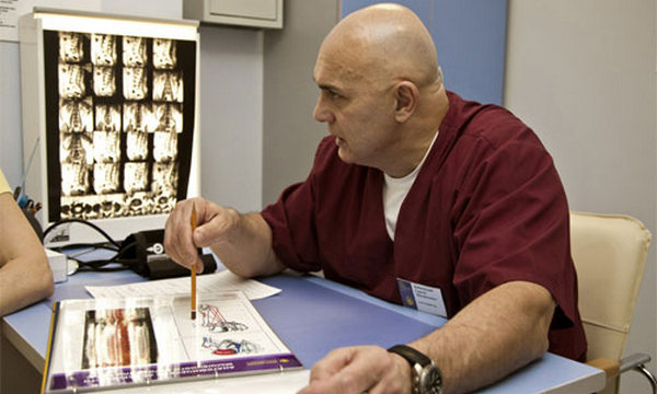 Доктор Бубновский: упражнения для шеи, остеохондроз шейный