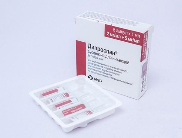 Важно знать, можно ли сочетать «Дипроспан» с другими препаратами