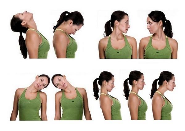 Упражнения можно выполнять не только при наличии остеохондроза, но и при головных болях, нарушениях сна