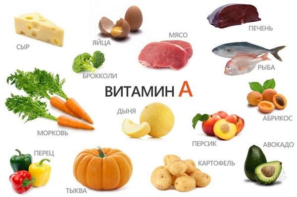 Для получения витамина А нужно питаться морковью, абрикосами, арбузом, а также бобовыми