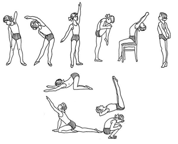Наглядное выполнение упражнений